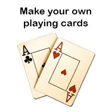 how to make your own deck of cards best 25 blank cards ideas on in