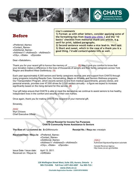 8 thank you letter donation pay stub template