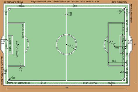dimensione porta calcio s t c dimensione dei ci di calcio di serie a e b
