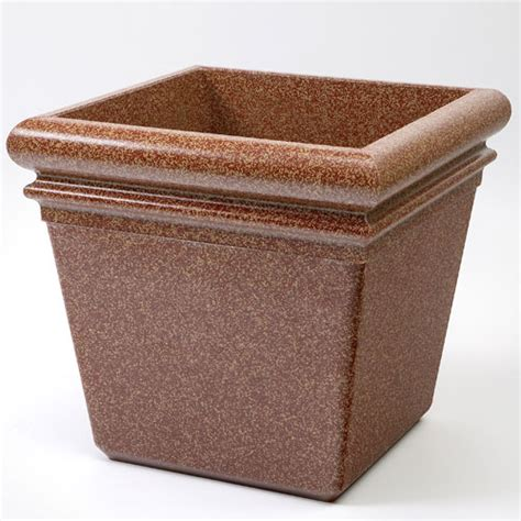 Commercial Indoor Planters by Commercial Zone 174 18 Quot Stonetec Indoor Or Outdoor Planter Sedona