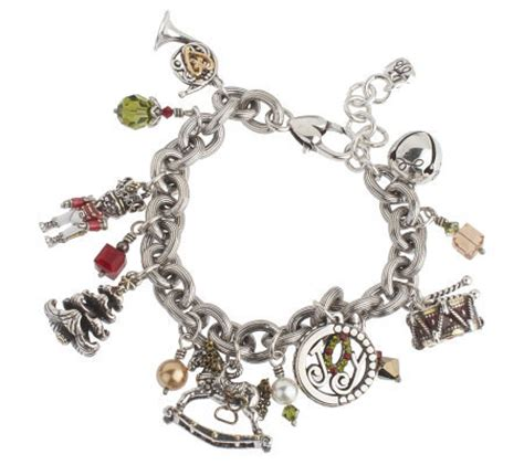 brighton charm bracelet page 1 qvc