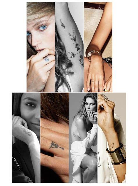 catwalk tattoo 15 best fashion models ink inspiration images on