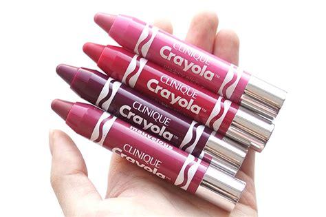 Clinique Crayola thenotice clinique crayola stick collection