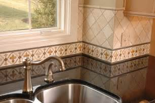 tile borders for kitchen backsplash painted kitchen border tile backsplash