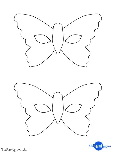 butterfly mask template easy costume butterfly mask dress ups mask printables
