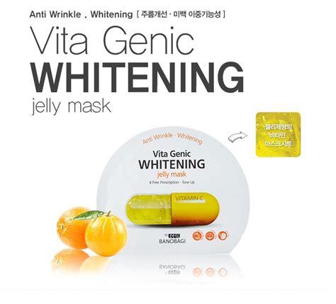 Stayve Whitening Lifting Pack banobagi vita genic jelly mask pack 10pcs lifting relaxing hydrating whitening ebay