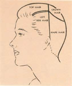 part s hair how to part section hair for vintage hairstyles basic
