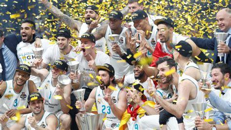 entradas real madrid baloncesto euroliga final four euroliga 2018 el madrid y la fuerza del cari 241 o