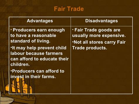 what are trade free trade fair trade and human rights