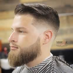 comb fade haircuts