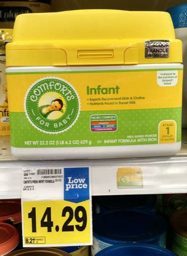 comforts baby formula baby deal comforts for baby formula only 7 29 at fred