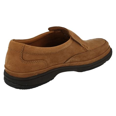 mens clarks flexlight wide fitting slip on shoes