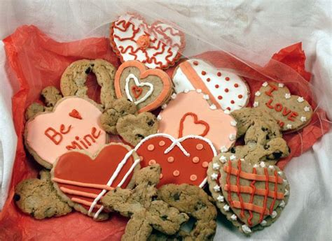 valentines day baked goods cookie assortment bakery