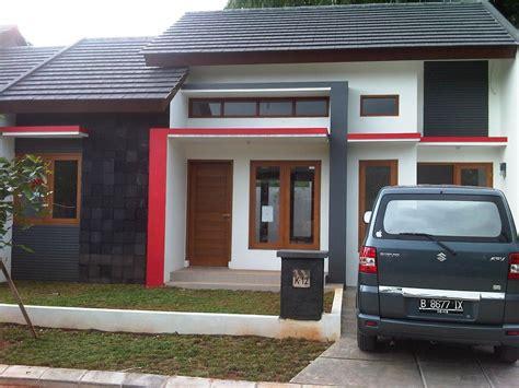 foto desain rumah minimalis warna hitam putih