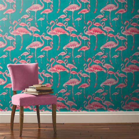flamingo wallpaper kitchen a shade wilder arthouse flamingo beach fuschia unpasted
