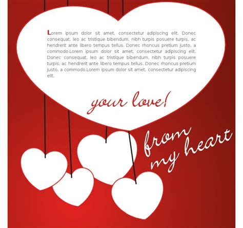 valentines day template free valentines day email templates