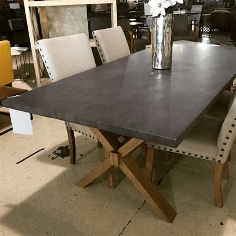 zinc top dining table zinc top table horizon home furniture