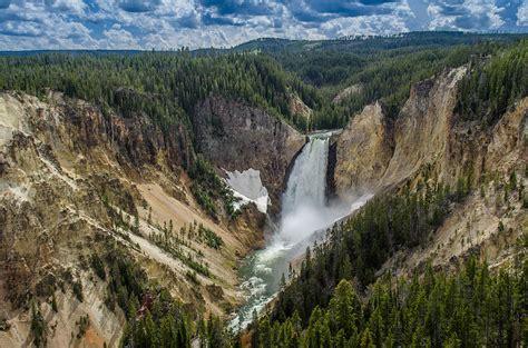 yellowstone lower falls waterfall in yellowstone top 10 waterfalls in the united states ecstasycoffee