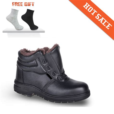mens steel toe winter work boots 2015 free shipping winter protective shoes work shoes anti