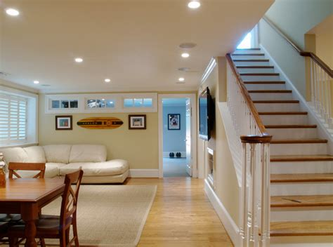 steeplechase basement renovation traditional