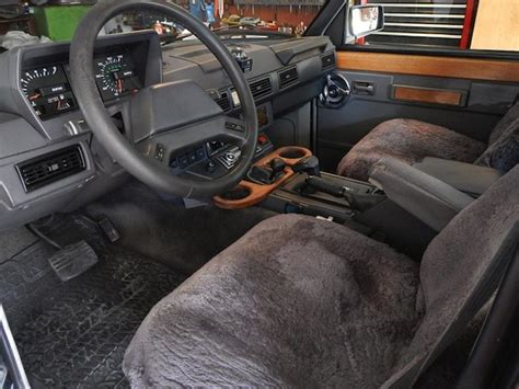 Classic Range Rover Interior by Bat Exclusive The Pilot S 1 Owner 1988 Range Rover