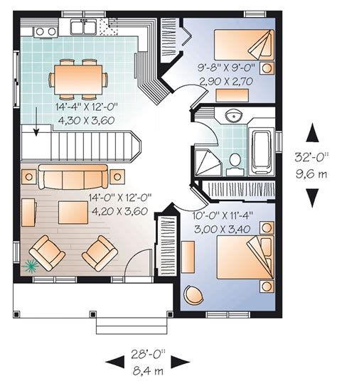 house floor plans for 20x24 20x24 cabin floor plans house plan 64885 at familyhomeplans com