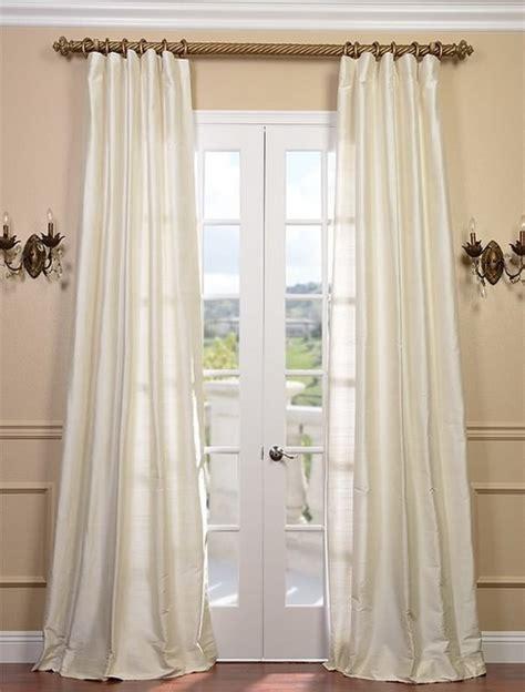 Silk Dupioni Curtains Pearl Textured Dupioni Silk Curtain Traditional Curtains San Francisco By Half Price Drapes