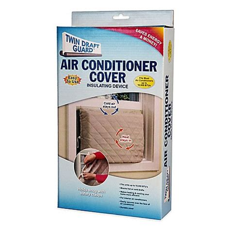 bed bath beyond air conditioner twin draft guard air conditioner cover bed bath beyond