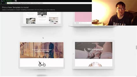 squarespace change template how to change templates on squarespace