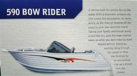 bowrider boats for sale western australia new trailcraft 590 bowrider power boats boats online