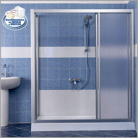 doccia al posto della vasca costi da vasca a doccia soluzione standard trasforma la