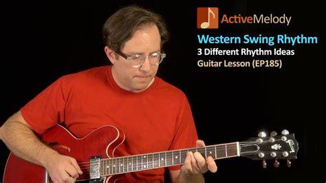 swing rhythm guitar western swing style rhythm guitar lesson jazzy chords