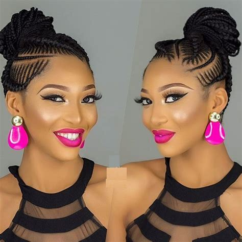 nice shuku weaving hair style latest ghana weaving shuku styles fabwoman