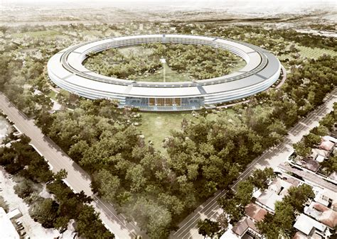 apple headquarters cupertino releases detailed drawings of mothership