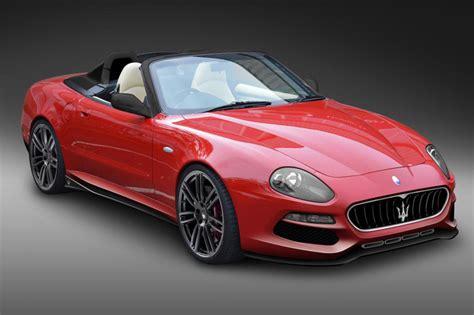 red maserati convertible design q transforming a maserati 4200 spyder 183 superyacht