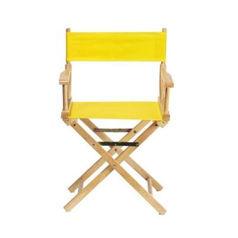 Directors Chair Cover by Home Decorators Collection Lemon Seat And Back For