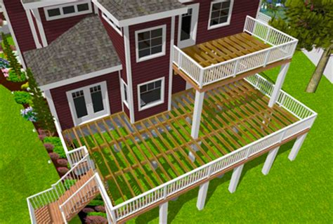deck design software deck designs free deck designer software