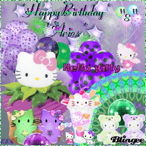 happy  birthday ariesfrom auntie sherryi love  sweet girl