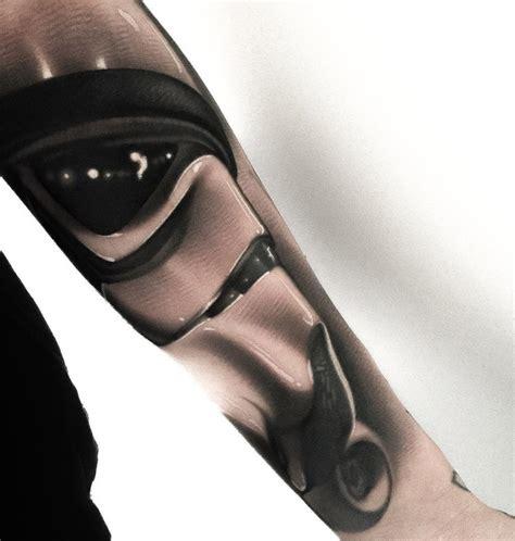 realistic stormtrooper upper arm piece best tattoo