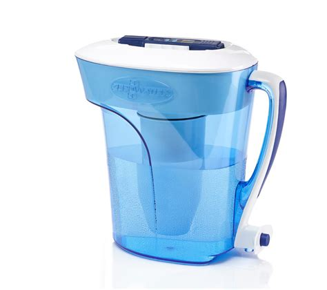 zero water pitcher zerowater 10 cup pitcher with free water quality meter pitcher water filters