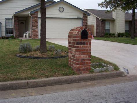 brick mailboxes brick mailboxes kodiak custom masonry