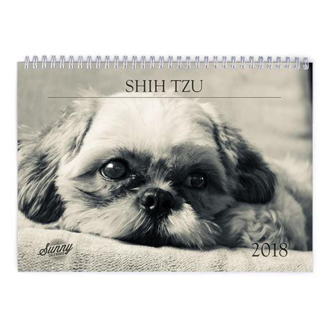 shih tzu calendar shih tzu 2018 calendar 2018 calendar
