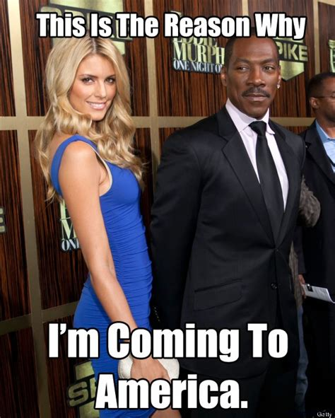 Coming To America Meme - epic blonde jokes