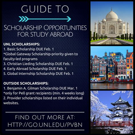 How To Get Scholarship For Studying Mba Abroad by Study Abroad Scholarship Deadlines Announce