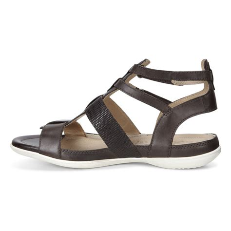ecco sandals discounted ecco flash casual sandals coffee coffee