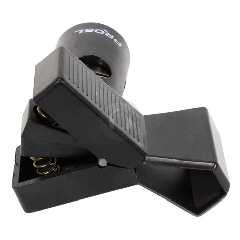 Proel Abs Microphone Holder Apm35b proel apm30 professional large microphone mic clip holder 20mm 32mm ebay