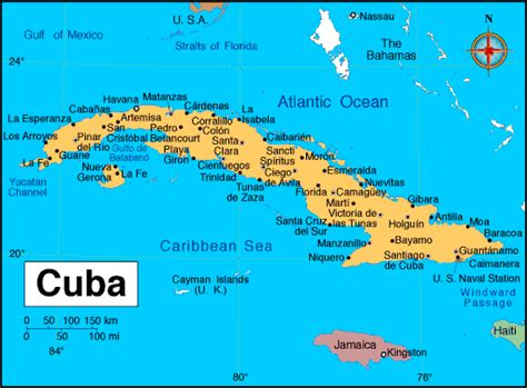 map of cuba cities travel to cuba