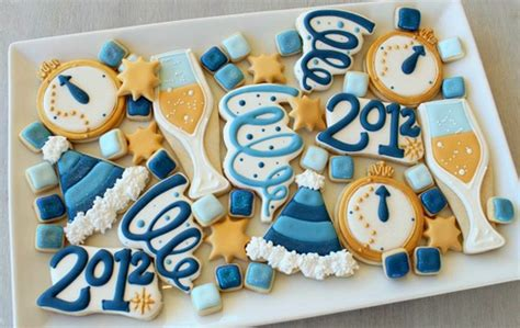 new year ribbon cookies happy new year www sweetsugarbelle 2011 12