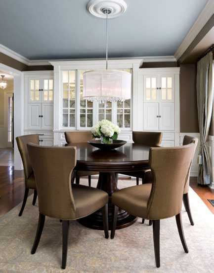 brown dining room chocolate brown interior colors and comfortable interior