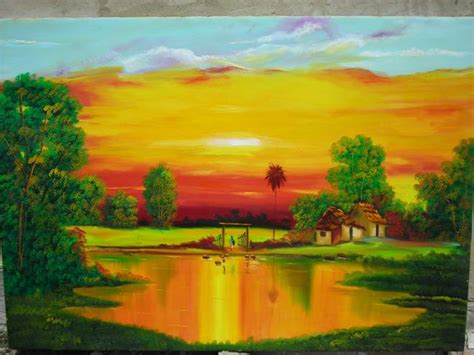 imagenes de paisajes llaneros pintor